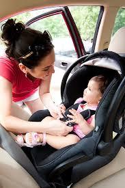 Rear facing car seats