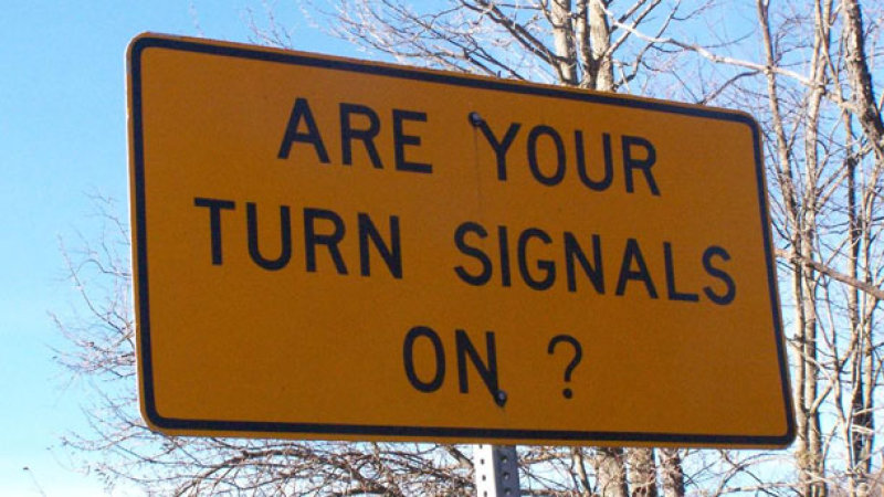 Image result for turning signals